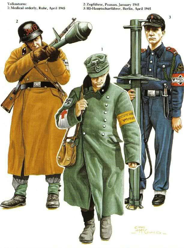 8 best volkssturm 1944-1945 images on Pinterest | Soldiers ...