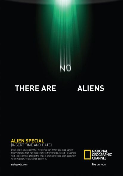 print, europe, united kingdom, national geographic, fox creative, there are no aliens