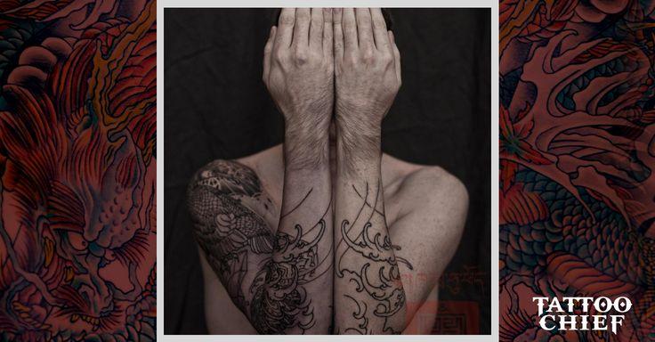 Traditional sleeve tattoo (4) - japanese sleeve tattoo on TattooChief ...