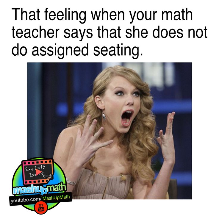 Taylor Swift knows what's up! Check out all of our daily school memes by following @MashUpMath on Instagram!
