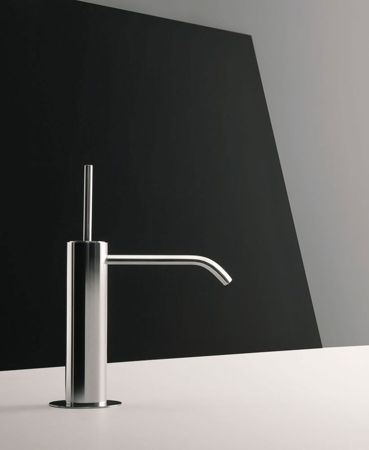 Fantini is best known for bringing together craftsmanship and cutting edge technology, as well as focusing on top quality design and constant material research. | Colibrì mixer tap, Angeletti & Ruzza, 2016  Colibrì is a mixer tap with clean and simple lines, inspired by bamboo taps traditionally found in Japanese gardens.