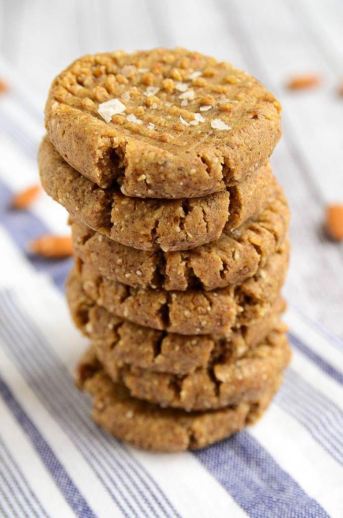 Raw Almond Butter Cookies | Recipe | Raw Almond Butter, Almond Butter ...