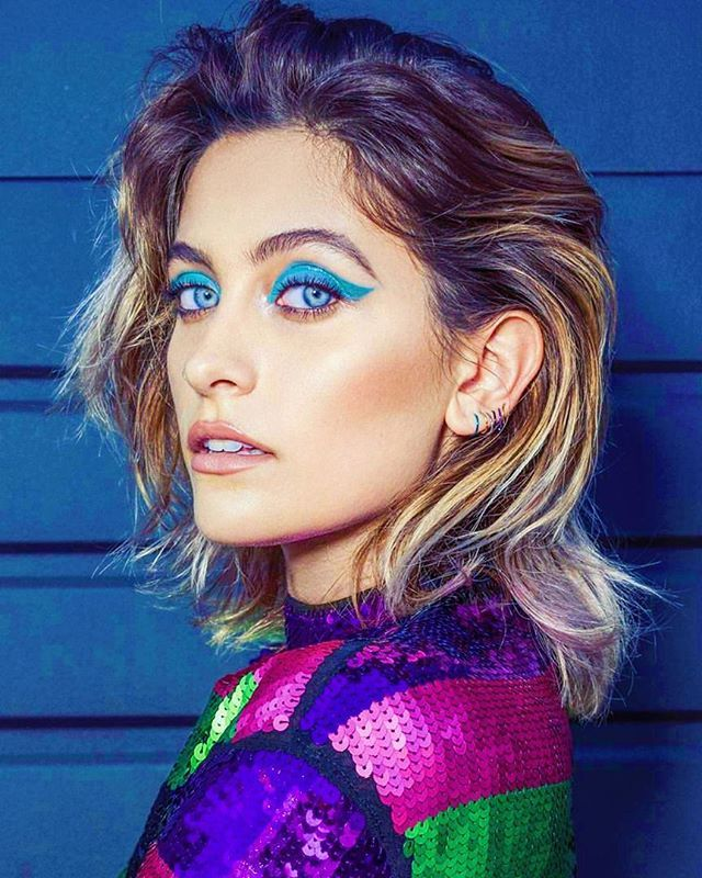 Paris Jackson in the January 2018 issue of Brazil Vogue Magazine