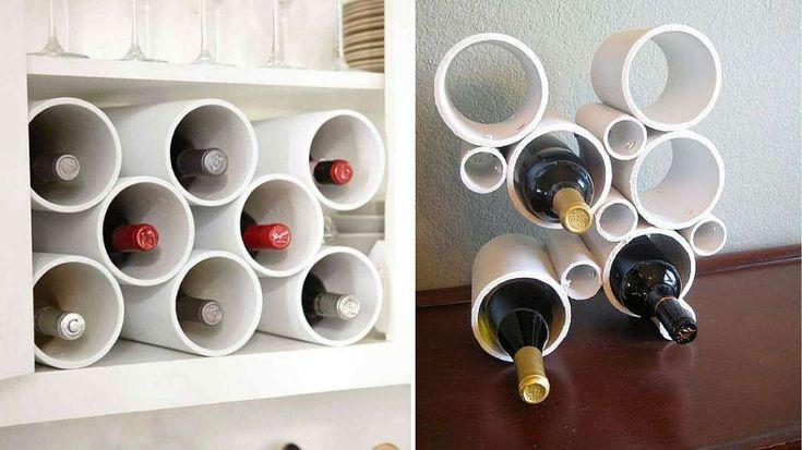 Rangement bouteilles de vin