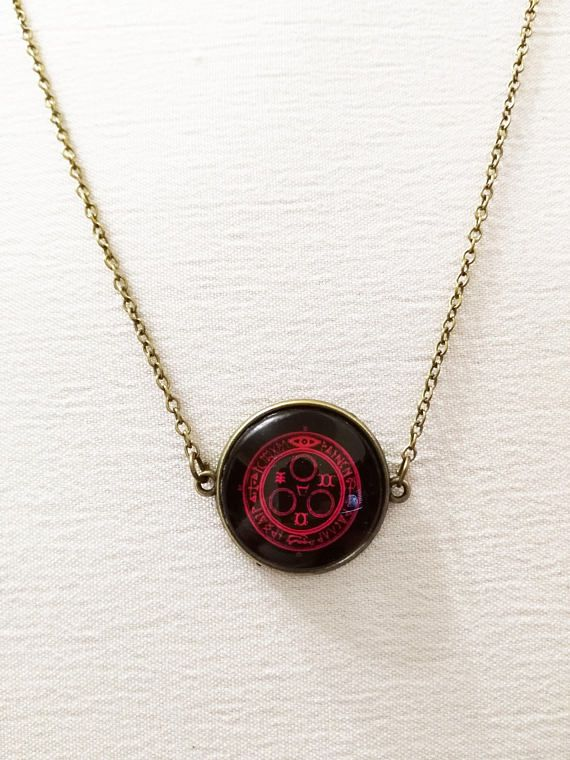 Silent Hill necklace halo of the sun photo cammeo horror