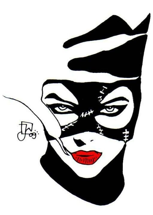 Catwoman Stencil Google Search Catwoman Catwoman