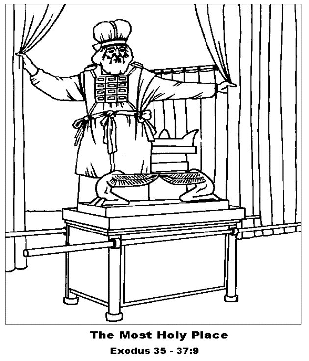 53 best images about tabernacle ideas for ocbc 2016 on for Ark of the covenant coloring page