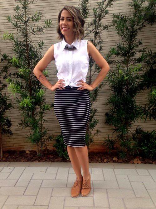 Meu Armário Cápsula trabalho | Ideias fashion, Moda minimalista, Look com saia lapis