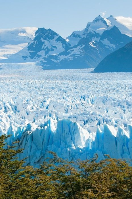 The untouched beauty of Patagonia-  Glaciar Perito Moreno Winter all year round! Http//:patricialee.me