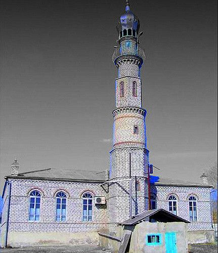 https://flic.kr/p/7kiyjT   village mosque (Petiletka, Dagestan) (Russia)   islam in Dagestan (region of Russia) represent the 65% of the population (Dagesis)  it is the main religion of Dagestan