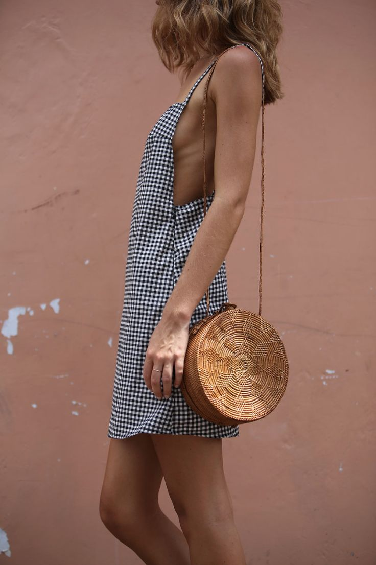 THE JANE DRESS #fashion #gingham #dress