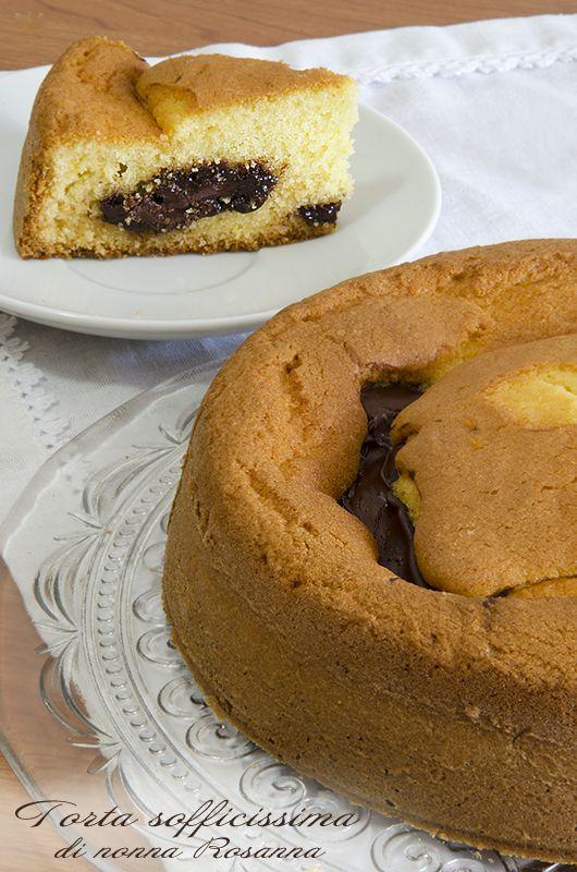 Torta sofficissima di nonna Rosanna con Nutella!!!