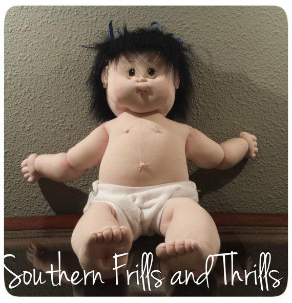 Escultura macia boneca de pano macio Escultura boneca por SouthernThrills