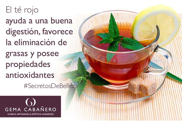 El té rojo con hielo se convertirá en tu bebida favorita del verano cuando conozcas todo lo que puede hacer por ti! #SecretosDeBelleza