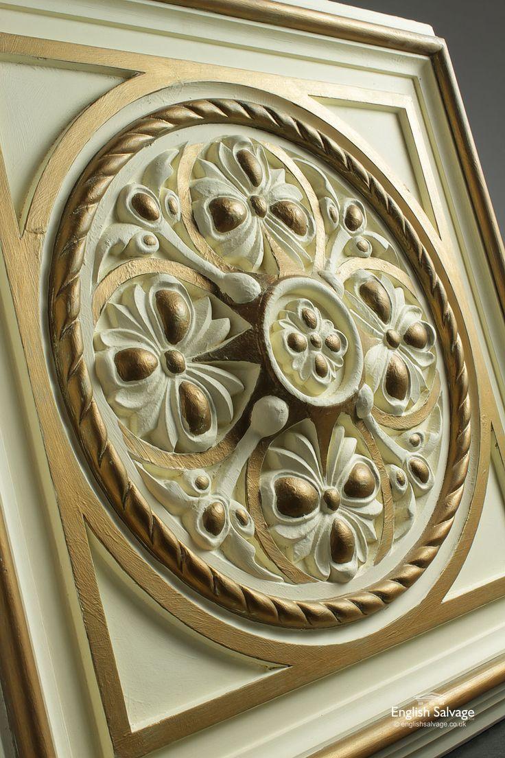 Decorative Plaster Ceiling Panels / Tiles