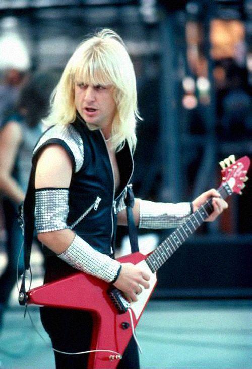 """ Judas Priest by Neal Preston, 1983. """