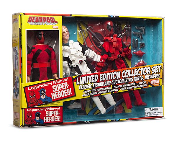 "Marvel: Deadpool 8"" Retro Set"