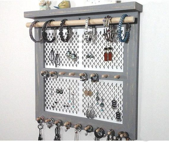 25+ unique Jewelry organizer wall ideas on Pinterest ...