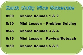 Second Grade Scrapbook: Daily Five Math