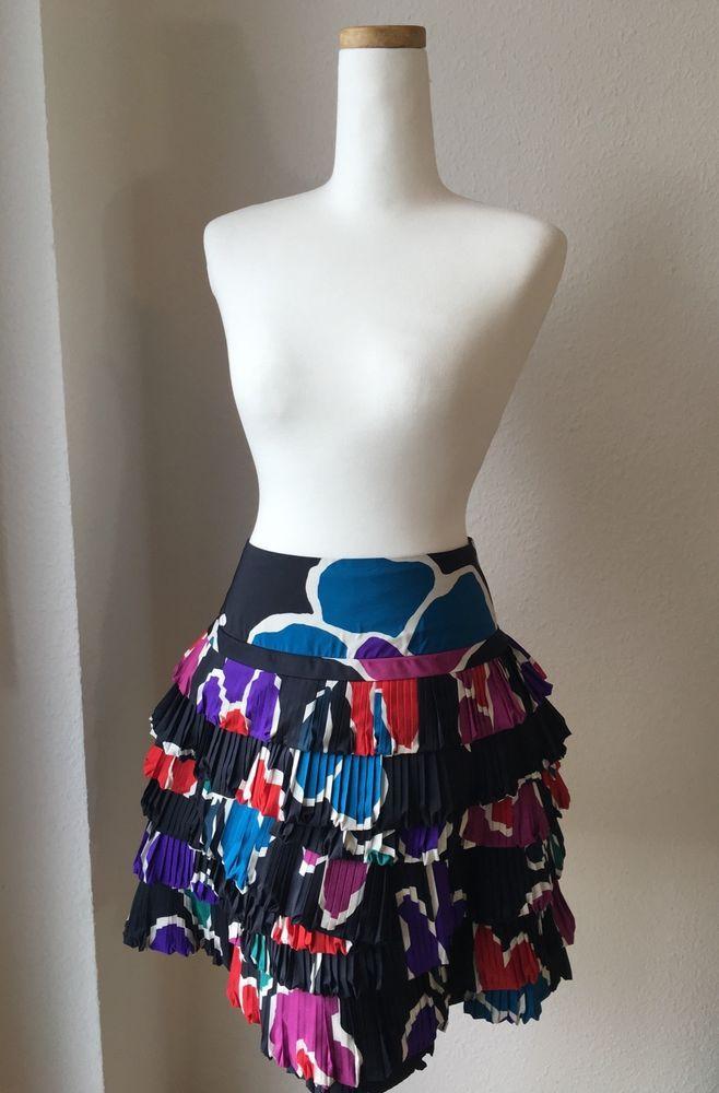 Marc by Marc Jacobs Flamenco Skirt Sz 2 | eBay