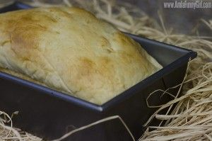 hawaiian sweet bread loaf in pan