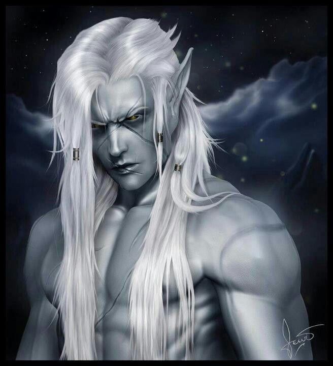 Dark elf warrior More