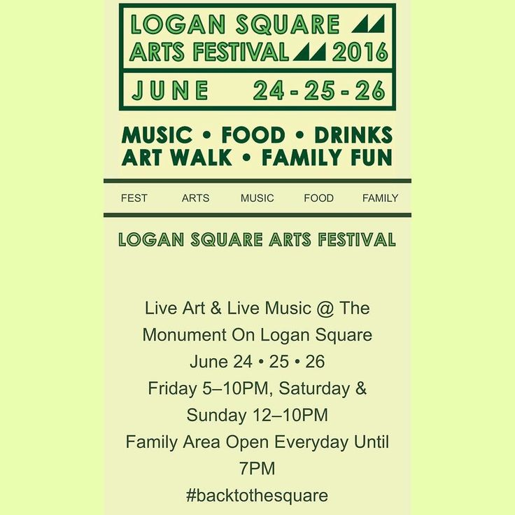 Hey neighbors! Join forget to join all of us next weekend at the Logan Sauare Arts Festival! You'll be engrossed in amazing music food art and of course drinks! We can wait to see all of you there!  #logansquareartsfestival #logansquare #chicago #chicagofests #chicagolife #chicagoart #chicagomusic