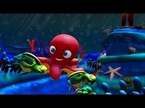 En el fondo del mar (canción infantil) - YouTube