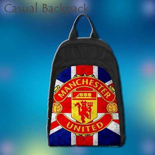 Casual backpack is made from oxford fabric. The front face is customizable with your own photos and designs. This backpack has a roomy main compartment with a fully lined interior that offers plenty o