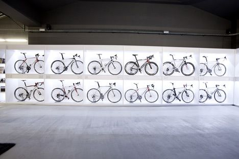 Wish that wall o' bikes was in my living room