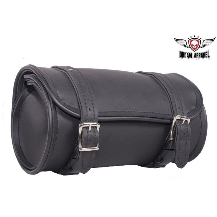 "Motorcycle Tool Bag Pouch Black 10"" Plain Universal Front Back Fork Storage New #Dealer http://www.ebay.com/itm/-/152564142713?ssPageName=STRK:MESE:IT"