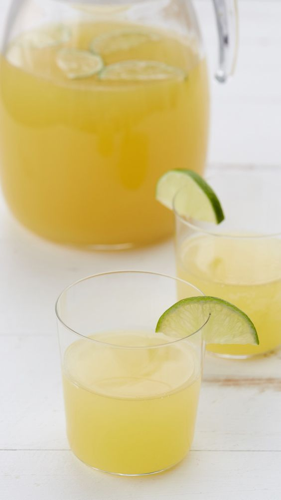 Pineapple Limeade Recipe - You may never return to regular lemonade after you try this refreshingly fruity cooler.