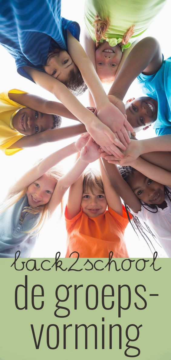 Back2school- de groepsvorming