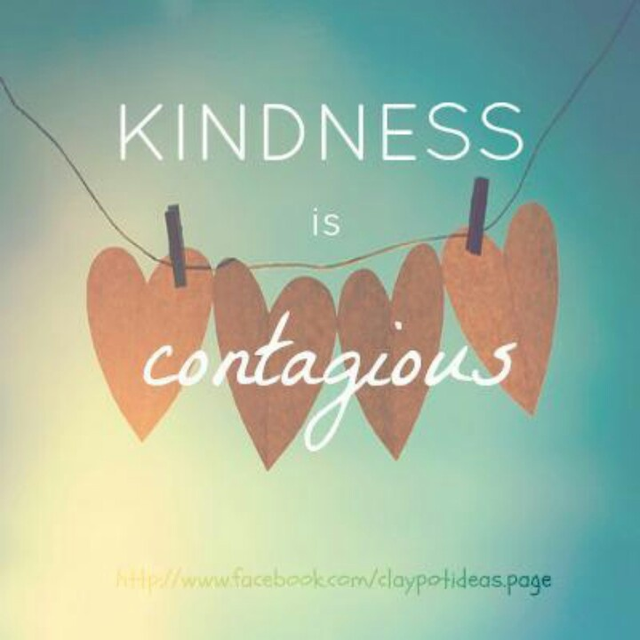 kindness is contagious essay help