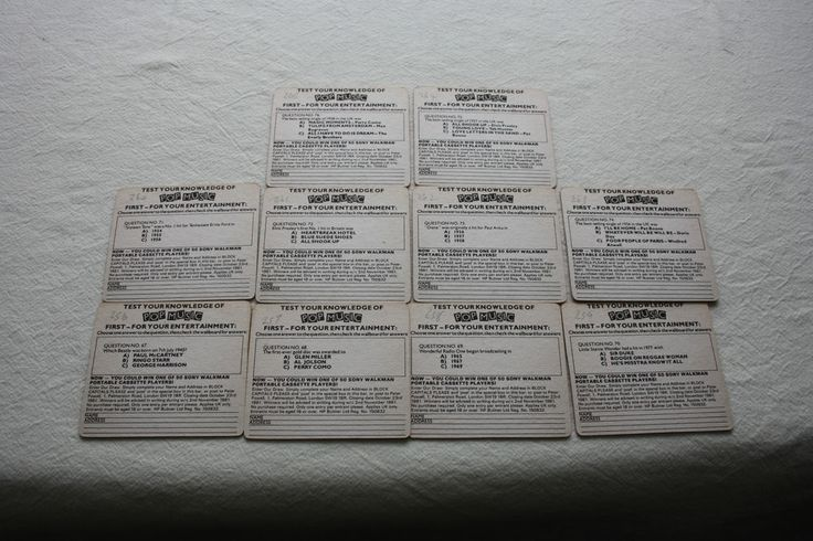 Collection of 10 Bulmers Woodpecker Cider Beermats (1Y12) 8/14) Cats 256-265
