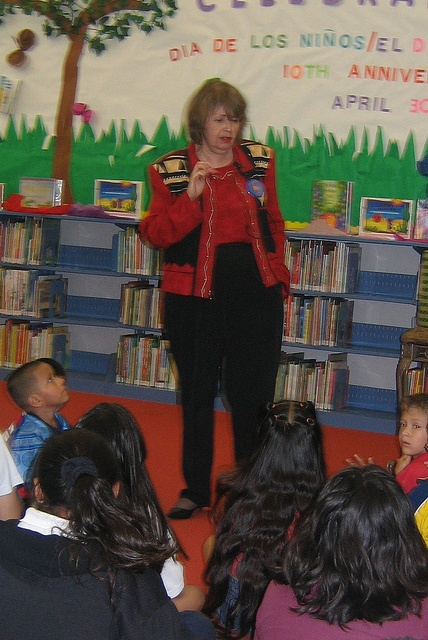 Pat Mora at Houston Public Library