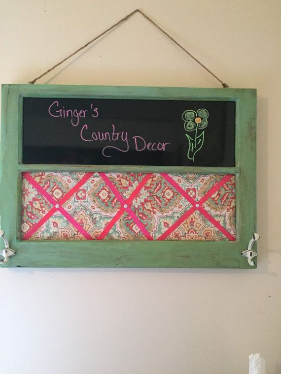 Hey, I found this really awesome Etsy listing at https://www.etsy.com/listing/254340779/antique-window-frame-message-board