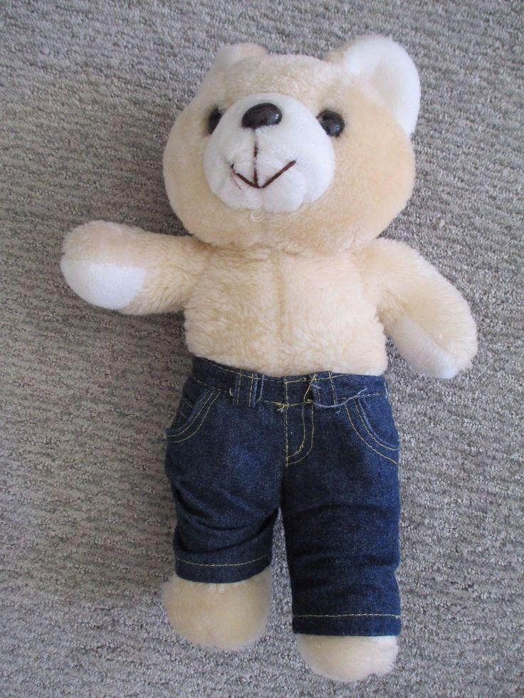 """#TeddyBears #Teddy #Bears Plush Teddy Bear, Lee, Height 25"""" #TeddyBears #Teddy #Bears"""