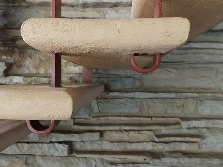 Best Stair Detail In Out Out About Frank Lloyd Wright S 400 x 300