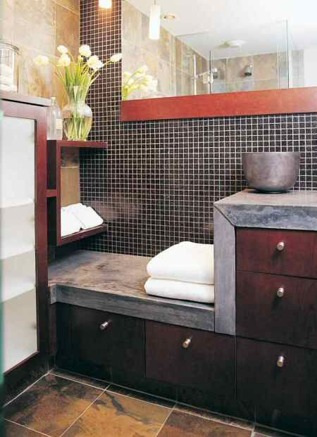 11 Best Ideas For Guest Bathroom W Black Slate Floor