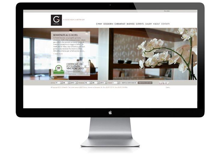 Studio Pieri | Agenzia di comunicazione Pesaro | Portfolio lavori | G HOTEL | Sito Web