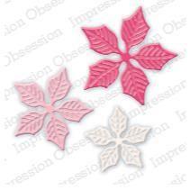 Sm. Poinsettia Set Code: DIE322-J: