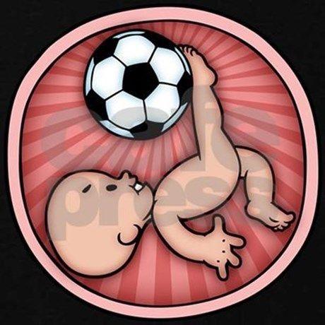 d1b687704f013 Soccer Baby Kick Maternity Dark T-Shirt Soccer Baby Kick T-Shirt | CafePress .com