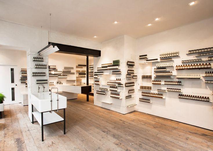 ciguë: aesop soho shop - designboom | architecture