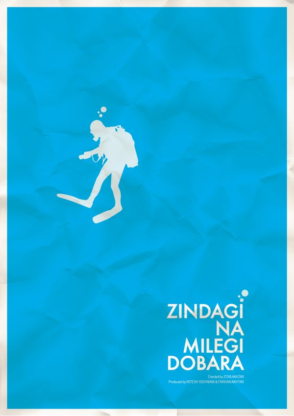 Minimal Bollywood Posters on Behance