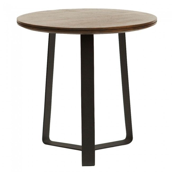 $500 550mm Yvette Side Table Large by Clickon Furniture | Clickon Furniture
