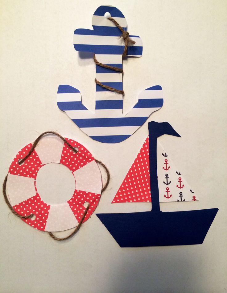 Nautical door tags
