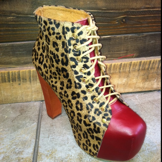 Jeffrey Campbell: Shoes, Lita Colors, Colors Blocks