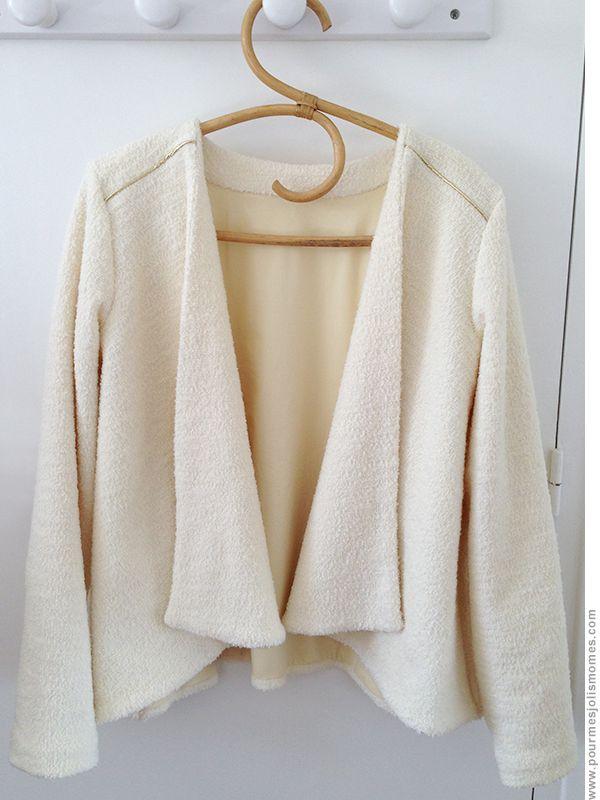 pour mes jolis mômes, mais pas que... Patron : veste Eagle de Vannessa Pouzet #couture