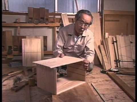 江戸指物-- woodworking joints